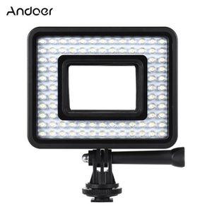 CAMÉRA SPORT Andoer Caméra LED Anneau Lampe Lumière de rempliss