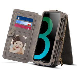 COQUE - HOUSSE - ÉTUI Housse Étui gris pour Samsung Galaxy S9 et A8 2018