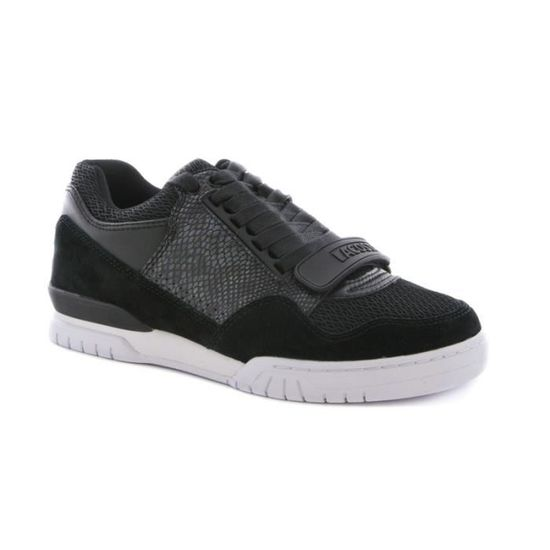 0e87a965c9c Chaussure Lacoste Missouri en cuir Noir - Achat   Vente basket - Cdiscount