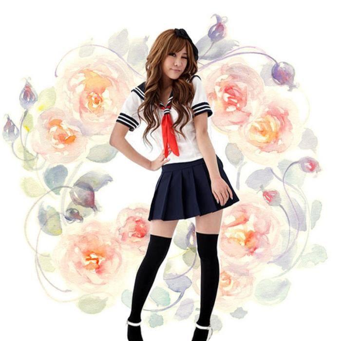 Cosplay uniforme ecoli re japon anime sexy etudiante manga - Image femme manga ...