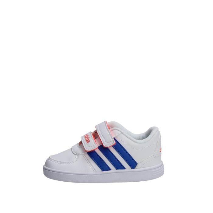 Vente Fille Blanc22 Adidas Achat Sneakers Blanc Basket j3A5R4L