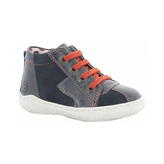 Mod8 chaussure garçon WOO Bottines bleu