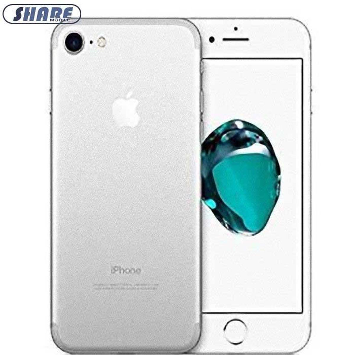 96cf05a129158c APPLE IPhone 7 32Go Argent Smartphone Débloqué Reconditionné-(Share mobile)