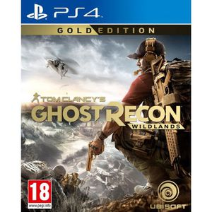 JEU PS4 Ghost Recon Wildlands Edition Gold Jeu  PS4