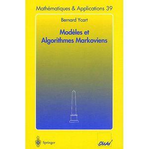 AUTRES LIVRES Modèles et algorithmes markoviens