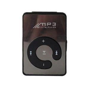 LECTEUR MP3 Mini lecteur MP3 avec câble USB et écouteurs  Noir