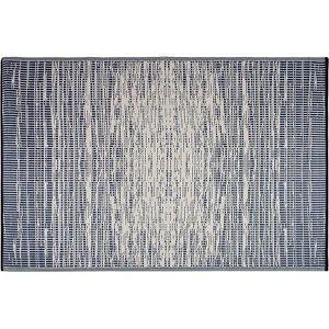 Tapis Interieur Et Exterieur Aspect Marbre Losanges Gris 200x290 Cm