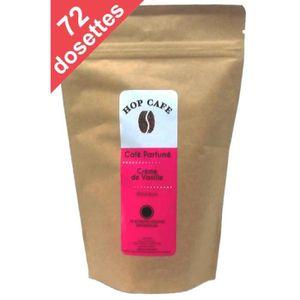 CAFÉ Pack 72 dosettes de Café aromatisé Vanille pour Se
