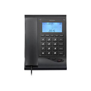 Téléphone fixe Brondi Gilmor Téléphone filaire avec ID d'appelant