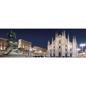 PUZZLE Puzzle 1000 pièces panoramique : Milan