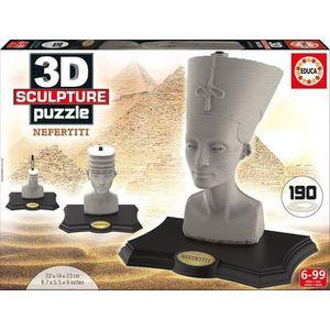 PUZZLE EDUCA Puzzle 3D Nefertititi