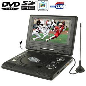 LECTEUR DVD PORTABLE Dvd/Tv Portable écran 7.5p Lcd support Usb/Sd/Jeux