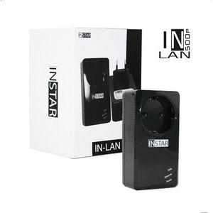 COURANT PORTEUR - CPL INSTAR IN-LAN 500P Adaptateur CPL 500Mbps Noir