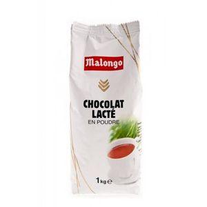 CACAO - CHOCOLAT Lot de 10 paquets de CHOCOLAT LACTE en poudre Malo