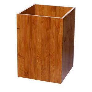 Set accessoires salle de bain bambou - Achat / Vente Set ...
