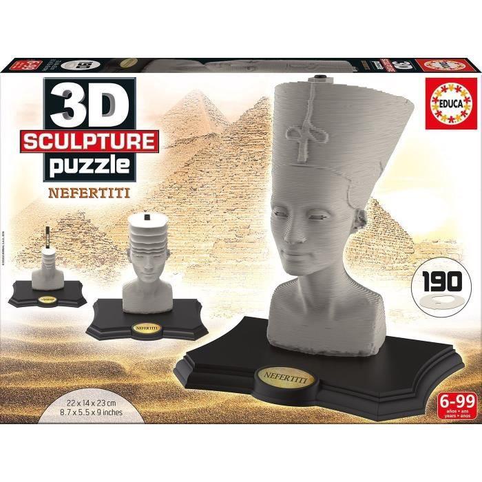 EDUCA Puzzle 3D Nefertititi