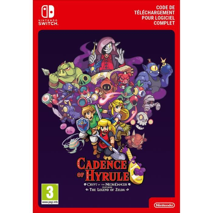 Cadence of Hyrule - Crypt of the NecroDancer Featuring - The Legend of Zelda Pass d'Extension - Code