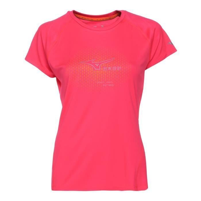 MIZUNO T-shirt de Running Core Graphic Tee Femme PE17