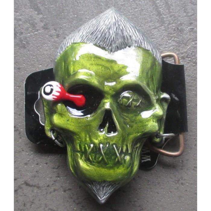Boucle de ceinture Lucky 13 zombie vert rockab homme punk - Achat ... 0834a07bec0