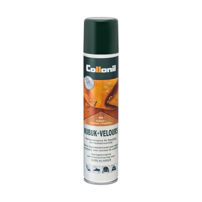 PROTECTOR - Spray imperméabilisant pour cuir, daim et nubuck COLLONIL 300ml  - Achat   Vente cirage et entretien 4002092332966 - Soldes  dès le 9  janvier ! 1128e2417e83