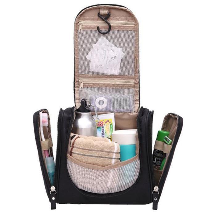 trousse de toilette spacieuse avec crochet de fixation sac de toilette r 233 sistant 224 l eau avec