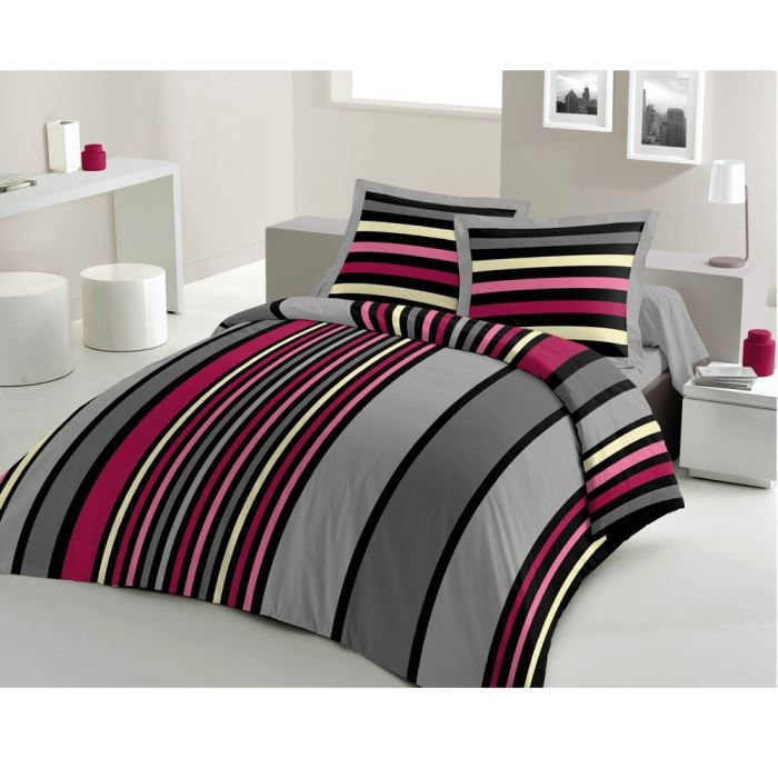 CASATXU Housse 200x200 + 2 Taies SONYA ROSE - Achat   Vente housse ... e01bfb60a4f7