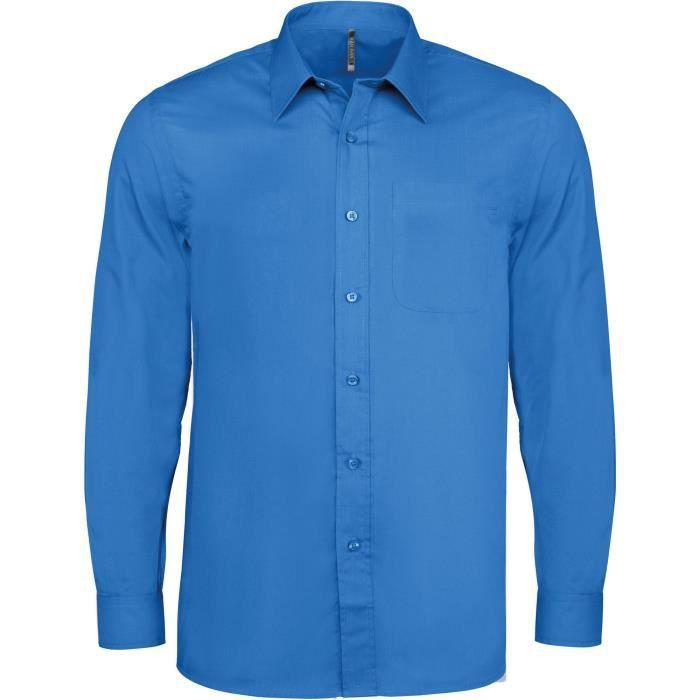 chemise bleu roi achat vente chemise bleu roi pas cher cdiscount. Black Bedroom Furniture Sets. Home Design Ideas