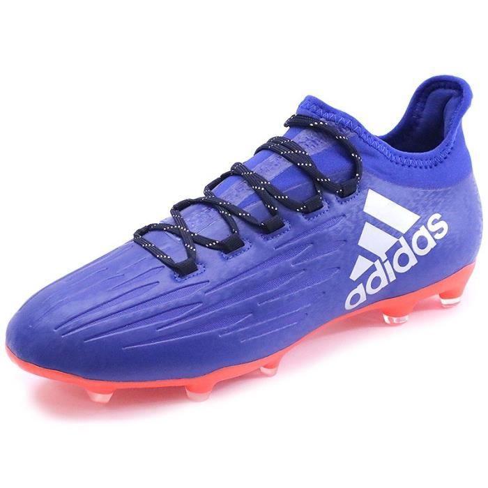 reputable site 7c917 d15c0 Chaussures X 16.2 FG Bleu Football Homme Adidas