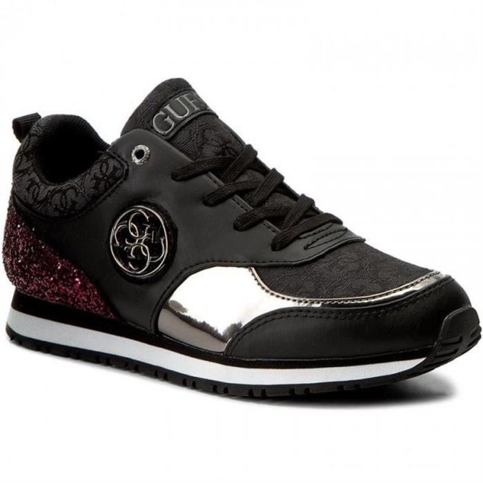 BASKET baskets reeta femme guess fleta3 fab12. Guess Reeta noir, sneakers  femmeSneakers ... 4147587d5d16