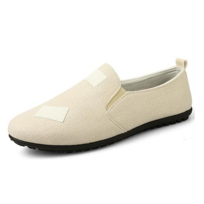 Chaussure bateau homme Slip-on Mocassin Lin Creepers AY5ovx
