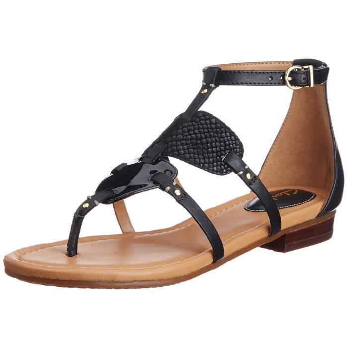 1f854a78cb480 Clarks 36 Noir SCABH Taille Sandales Femme 2 Mode Noir Achat 1 AgwAqTr