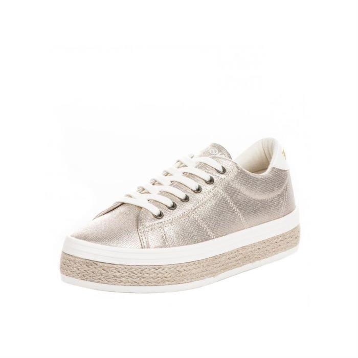 30add8375d4 Baskets mode malibu sneaker irun femme no name malibu sneaker irun ...
