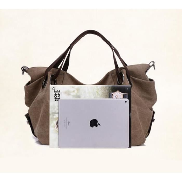 Tm) été Nouveau Sac à main épaule Toile bandoulière Sacs Hobo, tout-en-un sac CFL1O