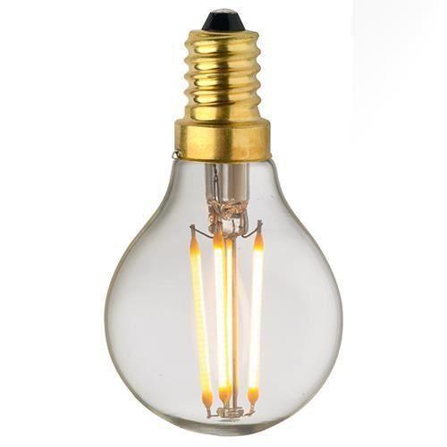 Verre Clair Lampe Droits E14 Filament Classique Led C45 4w 0r0xHw8q
