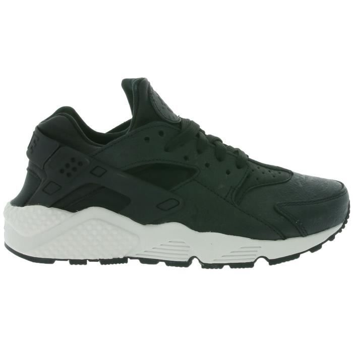 W Air Huarache Run premium Femmes Baskets Noir 683818 010 AkchcnqhY7