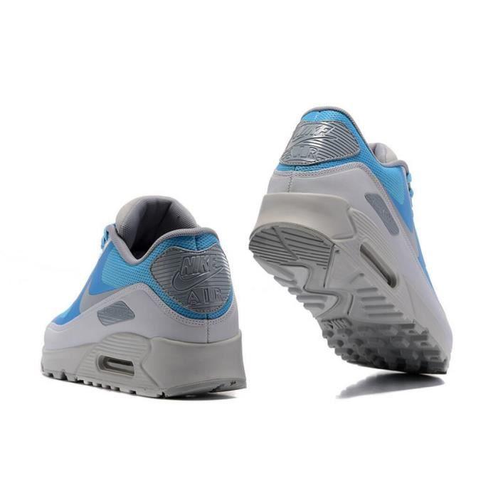 Baskets Nike Air Max 90 Ultra 2.0 Essential Homme Chaussure De Running Bleu et Gris