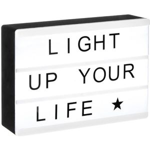 OBJETS LUMINEUX DÉCO  Atmosphera - Boîte lumineuse magnétique A6 L, 15 x