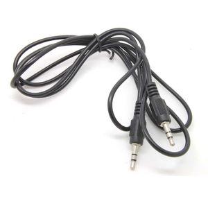 CÂBLE INFORMATIQUE Casque 3,5 mm Jack Audio câble de voiture de rempl