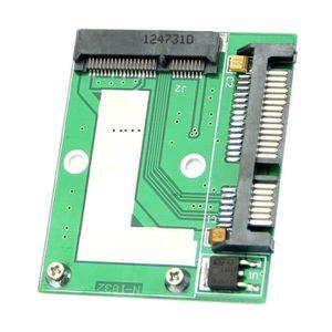 DISQUE DUR SSD Mini nouvelle Carte d'adaptateur PCI-E mSATA SSD a