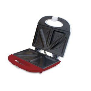 GRILL ÉLECTRIQUE BEPER 90.640H Machine à sandwish - 700 W - Blanc e