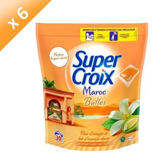 LESSIVE SUPER CROIX Lessives liquides Maroc - Fleur d'oran