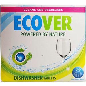 LIQUIDE LAVE-VAISSELLE Lave-vaisselle Ecover comprimés classiques 70 x co