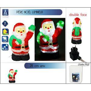 deco noel acrylique lumineux achat vente pas cher. Black Bedroom Furniture Sets. Home Design Ideas
