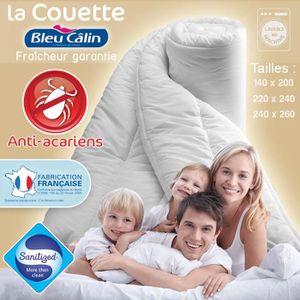 COUETTE Couette Anti-Acariens BLEU CÂLIN®  400 g/m² 240…