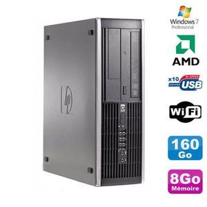 UNITÉ CENTRALE  PC HP Compaq 6005 Pro SFF AMD 3GHz 8Go DDR3 160Go