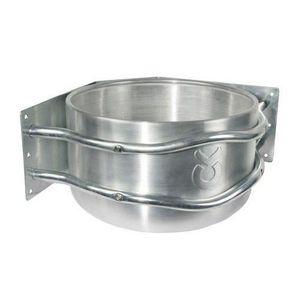 MANGEOIRE - TRÉMIE Kerbl - 32496 - Mangeoire en aluminium - Avec écou