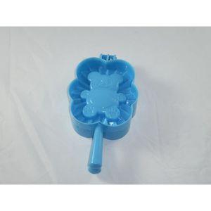 MOULE  Moule à chausson, ourson bleu.