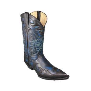 Plus Size 45 46 main Hommes Martin Bottes Chaussures en cuir de dragon d'or Santiags Hommes Métal Pointu Tip Fashion Party Glitter uifgVPlpfW