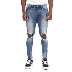 7bc0d00de62ff JEANS Jean skinny Destroy Gris Homme Project X Paris (34