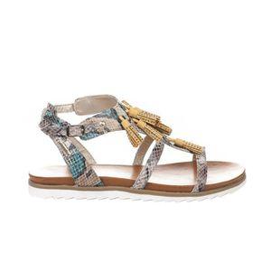 SANDALE - NU-PIEDS Nu pieds femme - BUGATTI - Jaune - 411-47081-6964